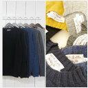 inverallan インバーアラン [shetland sweater][crew][solid][6c]