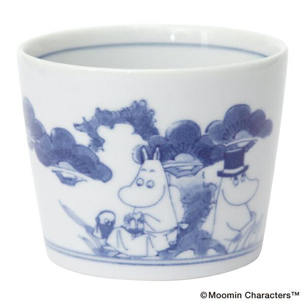 amabro アマブロ Moomin ムーミン SOMETSUKE 染付 猪口 Holiday