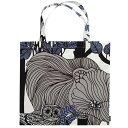 マリメッコ marimekko フィンランド独立100周年記念 VELJEKSET ショッピングバッグ Shopping bag 44×43cm