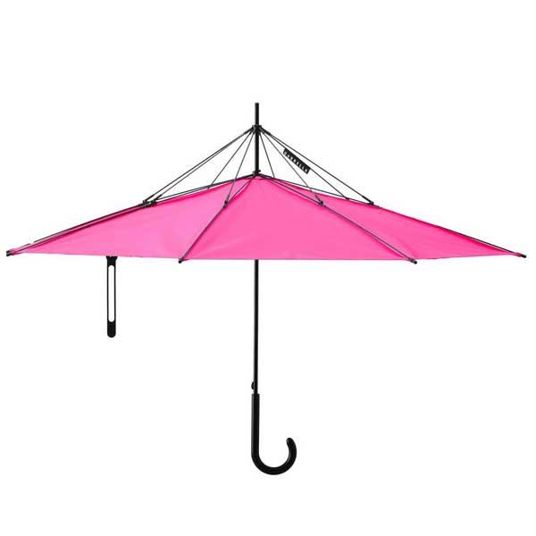 アッシュコンセプト h concept プラスディ +d 傘 Umbrella アンブレラ UnBRELLA ピンク D-871-PK【送料無料】 雨の日の憂鬱な気分を解消!自立する傘。