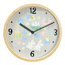 ムーミンタイムピーシーズ Moomin Time Pieces 掛け時計 パステルMTP-03-0021