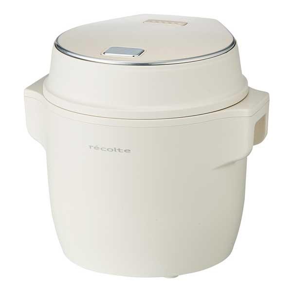 コンパクト ライスクッカー (Compact Rice Cooker)ホワイト