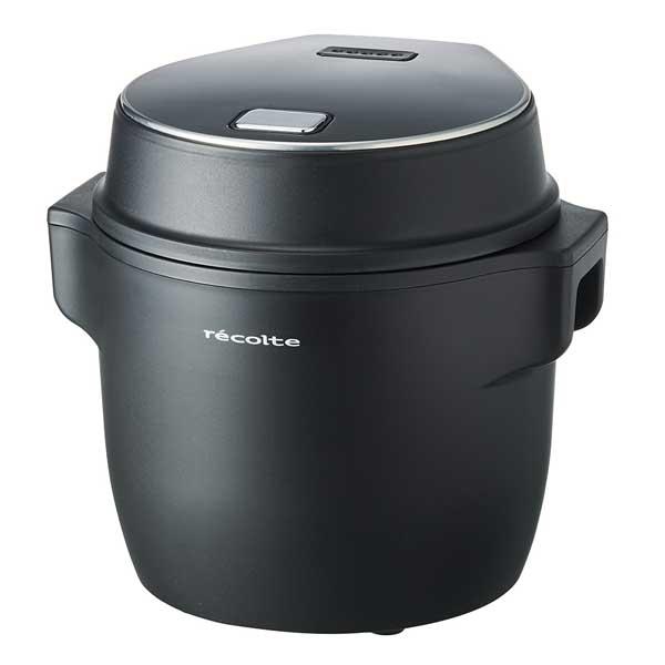 コンパクト ライスクッカー (Compact Rice Cooker)ブラック