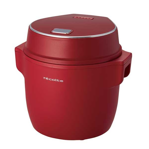 コンパクト ライスクッカー (Compact Rice Cooker)レッド