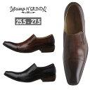 ショッピングヨネックス 本革 YONEX ヨネックス インソールおまけ付き バンプ アンド グラインド ドレスシューズ メンズ ビジネスシューズ ロングノーズ スクエアトゥ スリッポン 革靴 BG-2790
