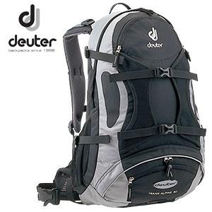 deuterドイタートランスアルパイン30ブラック×シルバーD32066-740