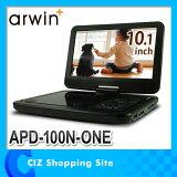 �ݡ����֥�DVD�ץ졼�䡼 10.1�� 3�Ÿ��б� �ݡ����֥�DVD���ޥ���ץ졼�䡼 DVD�ץ쥤�䡼 APD-100N-ONE ���������� arwin��02P28Sep16��