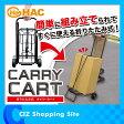 折りたたみ式キャリーカート 耐荷重20kg 台車 折り畳み式 フックゴムバンド付き【02P27May16】