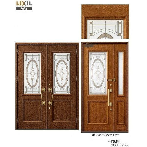 玄関 ドア リクシル プレナスX T33型デザイン 両開きドア 幅1692mm×高さ2330mm
