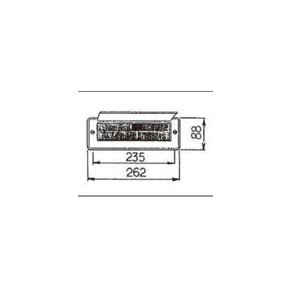リクシル ドア・引戸用部品 ポスト 玄関・店舗・勝手口・テラスドア:防風ポストロ DCFZ741 LIXIL トステム メンテナンス DIY リフォーム