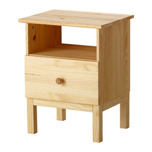 IKEA(イケア) TARVA ベッドサイドテーブル パイン材 10219611