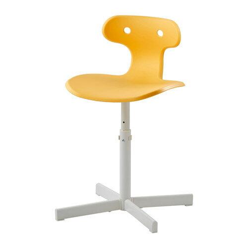 IKEA(イケア) MOLTE デスクチェア イエロー c30308588