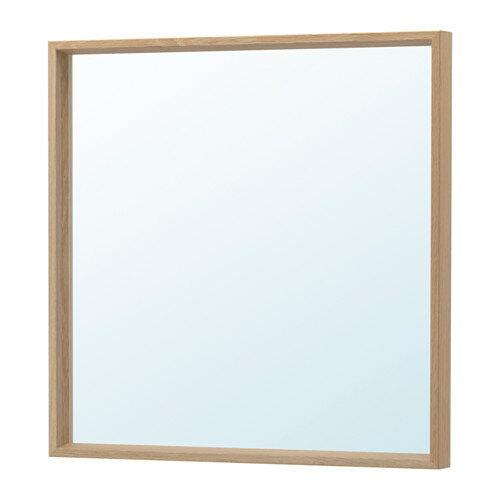 IKEA(イケア) NISSEDALミラー ホワイトステインオーク調 z30390875