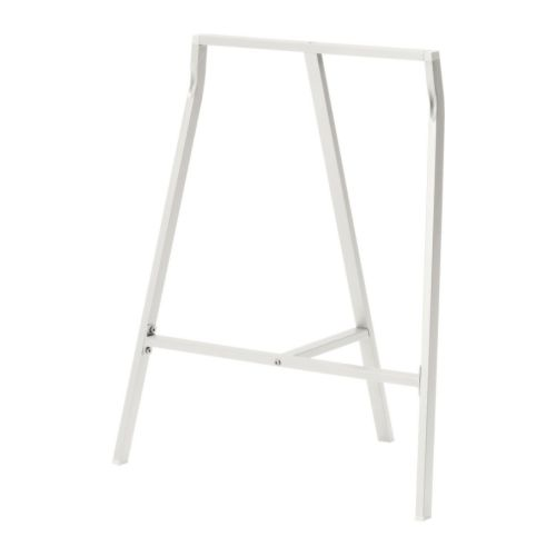 IKEA イケア LERBERG レールベリ架台 ホワイト 白 70x60cm b80166671