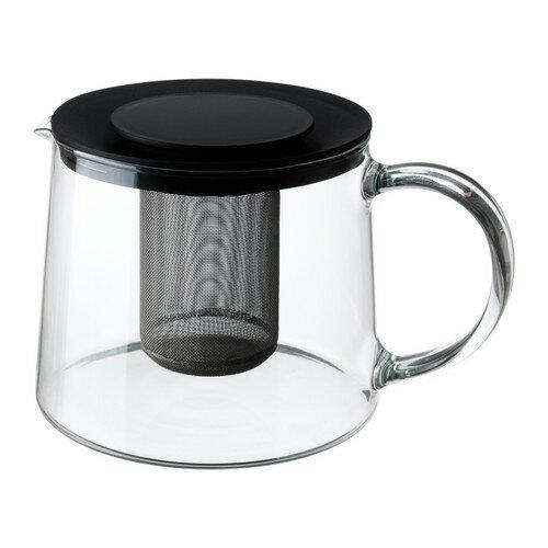 IKEA イケア RIKLIG ティーポット ガラス d30163217