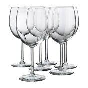 IKEA(イケア) SVALKA 赤ワイングラス / 6 ピース d40137812