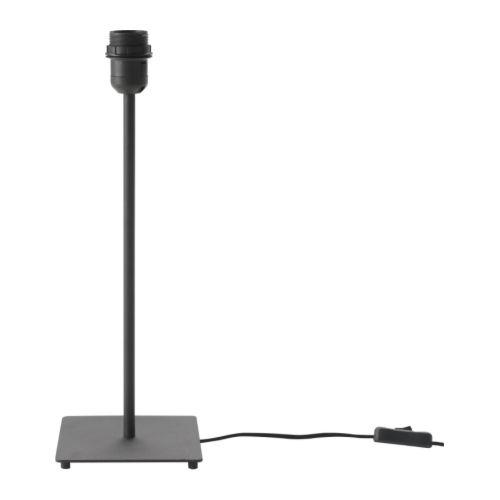 IKEA イケア HEMMA テーブルランプベース ブラック 30149504