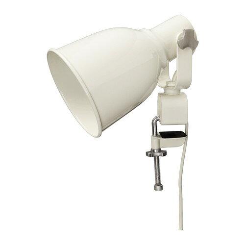 IKEA(イケア) HEKTAR ウォール/クリップ式 スポットライト ホワイト 60324308