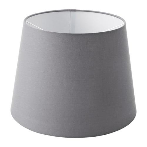IKEA イケア JARA イェーラ ランプシェード グレー 33cm z50328364