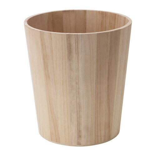 IKEA(イケア) BRORSA ゴミ箱 木製 d20297873