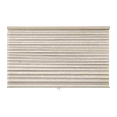 IKEA(イケア) HOPPVALS 断熱ブラインド ベージュ d60319118