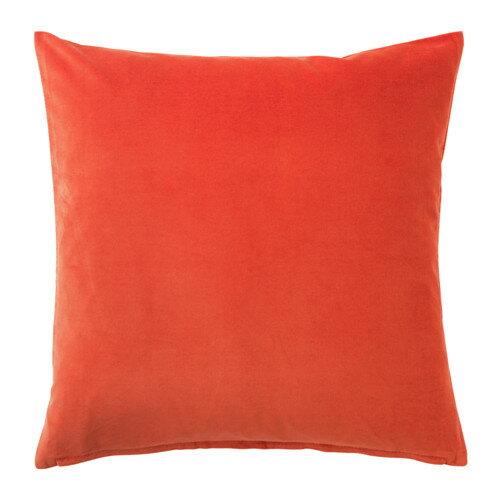 IKEA(イケア) SANELA クッションカバー オレンジ 00330595