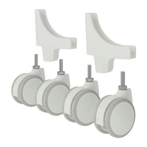 IKEA イケア ALGOT キャスター / 4 ピース ホワイト 40218525