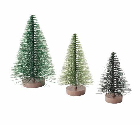 IKEA イケア VINTERFEST デコレーション3点セット クリスマスツリー グリーン n90437016の写真