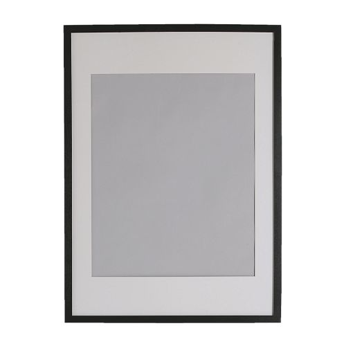 IKEA イケア RIBBA フレーム ブラック 50301618
