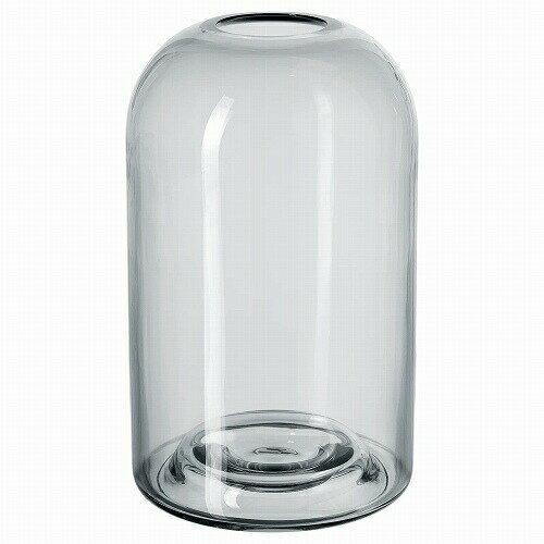 IKEA イケア 花瓶 グレー 18 cm n70456671 DROMSK