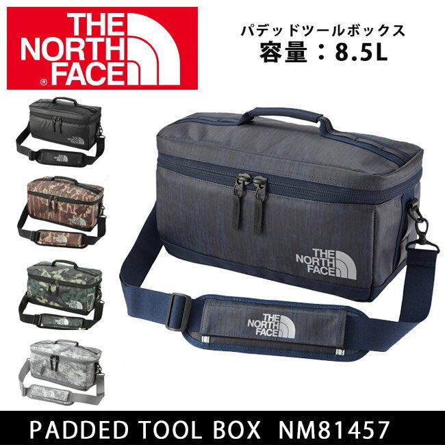 【スマホエントリーで全品10倍】ノースフェイス THE NORTH FACE ツールボックス パデッドツールボックス PADDED TOOL BOX カメラバッグ nm81457【NF-BAG】 即日発送