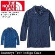 【楽天カード決済でポイント10倍!】ノースフェイス THE NORTH FACE コート ジャーニーズテックインディゴコート(メンズ) Journeys Tech Indigo Coat NP21657