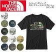 ノースフェイス THE NORTH FACE Tシャツ ショートスリーブカモフラージュロゴティー(メンズ) S/S Camouflage Logo Tee NT31622 (メール便対応)