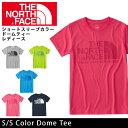 【エントリーでP5倍1/21 09:59迄】ノースフェイス THE NORTH FACE Tシャツ ショートスリーブカラードームティー(レディース) S/S Color Dome Tee NTW31600 (メール便対応)【NF-TOPS】【NF-LADY】
