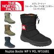 ノースフェイス THE NORTH FACE ブーツ ヌプシ ブーティー ウォータープルーフ V SE ミリタリー(ユニセックス) Nuptse Bootie WP V MIL NF51681 【NF-FOOT】 即日発送