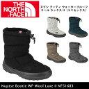 ノースフェイス THE NORTH FACE ブーツ ヌプシ ブーティ ウォータープルーフ ウール ラックス II(ユニセックス) Nuptse Bootie ...