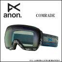 2014年モデル anon14-055 【ANON/アノン】ゴーグル COMRADE LEGION/BLUE LAGOON アジアンフィット