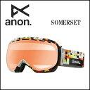 2014年モデル anon14-100 【ANON/アノン】ゴーグル SOMERSET CHOP/RED ICE アジアンフィット