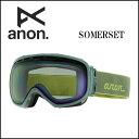 2014年モデル anon14-101 【ANON/アノン】ゴーグル SOMERSET LAGOON/BLUE LAGOON アジアンフィット