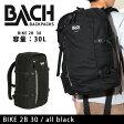 BACH BACKPACKS バッハバックパックス バックパック BIKE 2 B 30/all black/129411 2016SS 即日発送