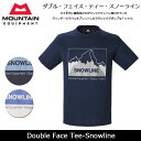 MOUNTAIN EQUIPMENT/マウンテン イクイップメント Tシャツ Double Face Tee-Snowline 423753 【服】 即日発送