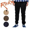 ROKX/ロックス COTTONWOOD SLIM RXMF6104 【服】 ロングパンツ リブパンツ 裾リブ カジュアル アウトドア