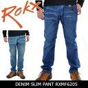 ROKX/ロックス DENIM SLIM PANT RXMF6205 【服】 クライミングパンツ ロングパンツ デニムパンツ ストレッチ カジュアル アウトドア
