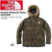 【全品カードで+7倍】ノースフェイス THE NORTH FACE パーカー ノベルティーマクマードパーカ(メンズ) Novelty McMurdo Parka ND91646 【NF-OUTER】 即日発送