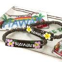 ハワイアン Hawaii ウッド ブレスレット(イエロー/ピ...