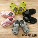 ●キッズ スリッポン スニーカー メッシュ サンダル 子供靴 子ども靴 シューズ 靴 女の