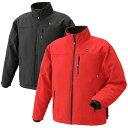 ショッピング充電 充電式ヒートジャケット 赤色 Lサイズ BHJ RYOBI ウェア