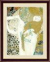 【メーカー直送】 絵画 額絵 壁掛け 洋画 水蛇I グスタフ・クリムト F4 42×34cm