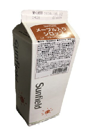 三田飲料 メープルシロップ 紙パック 1000ml