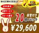 【送料無料】宅配クリーニング ロイヤル保管 20点パック